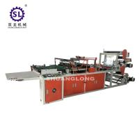Flower Side Sealing Bag Making machine Plastic Film Triangle Type Manufactures
