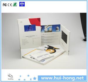 Cheap Digital video brochure/TFT video book for sale