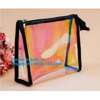 Buy cheap Travel Transparent Exquisite Zippered Handbag PVC Waterproof Toiletry Case Clear from wholesalers
