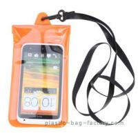 Soft PVC Waterproof Pouch Bag Colorful Cover Guaranteed Submersible To 19ft / 6m