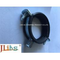 Cheap Welding type Cast Iron Pipe Clamps with EPDM Rubber Zinc Plated steel for sale