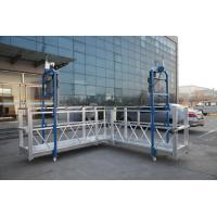 Steel Painted / Hot Galvanized / Aluminum  ZLP630 / ZLP800 / ZLP1000  L Shaped  Suspended Platform For Wall Painting Manufactures