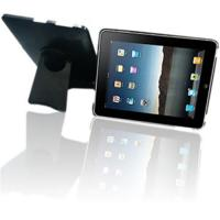Crystal case for ipad with portable folding stand Manufactures