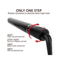 Professional Hair Straightener, Flat Iron for Hair Styling: 2 in 1 Tourmaline Ceramic Flat Iron wholesale Manufactures