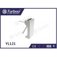 304 Stainless Steel Electronic Turnstile Gates 35 Persons / Min Transit Speed Manufactures