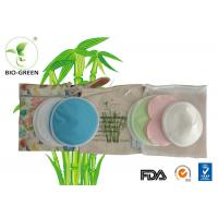 Gentle Reusable Bamboo Breast Pads With 3 Layers Color Optional 12*12cm Manufactures