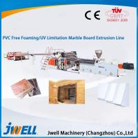 PVC free foaming/UV imitation marble board extrusion line Manufactures