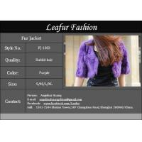 Rabbit Hair Fur Jacket Manufactures