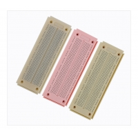 550 Point Round Hole Breadboard Colorful Circuit Board 15×5.3×0.85 cm Manufactures