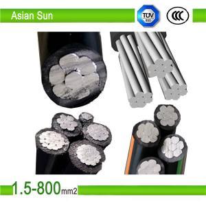 1KV XLPE/PVC Insulation, ACSRConductorABC AerialBunchCable Manufactures