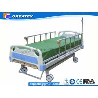 GT-BM1102 4-Crank Adjustable  Manual Hospital Bed Golden Supply from China Manufactures