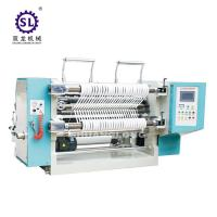 100-200 m/min Speed Tension Control Auto Slitting Machine  for Paper Straw Manufactures
