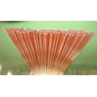 3.18 * 0.5mm Coating Copper Compressor Tubes Pass ISO14001 Manufactures
