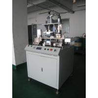 Printed Plastic Office ID Employees Card Card Making Auxiliary Equipment  Gold Press Machine Manufactures