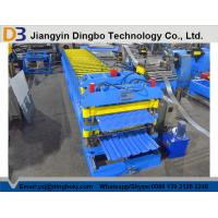 High Performance Steel Tile Forming Machinery For Big Span Steel Structure Manufactures