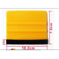 Eco - Friendly Cutter Plotter Parts Vinyl Wrap Felt Edge Squeegee 75mm X 102mm Manufactures
