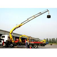 Effective 14 Ton Transportation XCMG Hydraulic Knuckle Boom Truck Mounted Crane Manufactures
