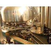 China Automated Easy Open Can Filling Machine , Gas Drink / Soda Filling Unit on sale