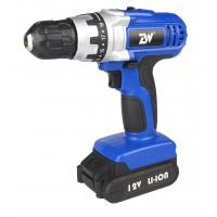 Lightweight Compact Soft Grip 1.3Ah Lithium Cordless Electric Drill , Rechargeab