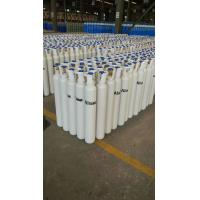 40L - 80L 150 bar  Seamless Steel Compressed Gas Cylinder For High Purity Gas ISO9001 Manufactures