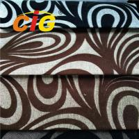 100% Polyester Colorful Sofa Upholstery Fabric 1.4-1.6M Width SGS Approval Manufactures