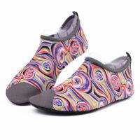 Van Gogh Style Aqua Water Shoes / Protective Barefoot Slip On Swim Shoes Manufactures