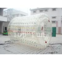 Cheap Colorful inflatable water roller , human size inflatable water rollers ball for sale