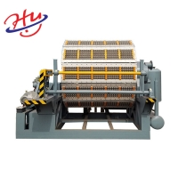 China Hot Products Sell Online Paper Pulp Fruit Tray Moulding Machine Egg Carton Tray Making Machine on sale