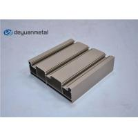 Buy cheap Standard Tan Powder Coating Aluminum Extrusions Shapes With Alloy 6063-T5 from wholesalers