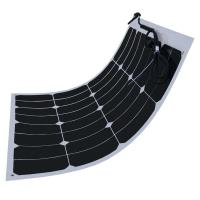 60W Flexible Solar Panels For Motorhomes , Sunpower Solar Cells Virtually Unbreakable Manufactures