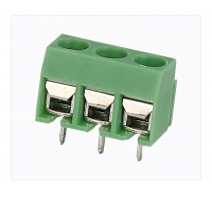 HQ306-5.0 Terminal Block PCB 2P - 3P Pole PA66 UL94V-0 Material Manufactures