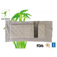 Chlorine Free Bamboo Washable Nappies With Anti Bacterial Material Strong Absorb 400ml Manufactures