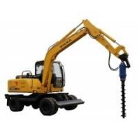 Excavator Hydraulic Earth Auger Hole Drilling With Two Piece Shaft Design KA6000