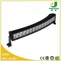 Good Price 10-30V 6000K Waterproof 30 Inch 140W Curved LED Driving Light Bar Manufactures