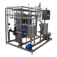 China 3 Stages / 4 Periods Plate Type Juice Sterilizer Dairy Processing Equipment 6TPH SUS316L on sale
