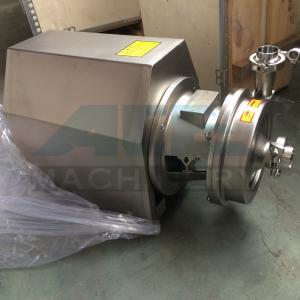 SS304 316 Sanitary food grade Centrifugal transfer pump  1.5hp food grade clean water pump Manufactures