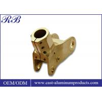 Metal Mould Copper Alloy Precision Casting Process For Automobiles / Construction Manufactures