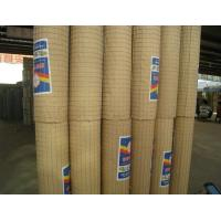 PVC Coated Wire Mesh Rolls 3mm / 4mm Thickness Galvanised Welded Wire Mesh Panels Manufactures