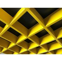 0.4~0.7mm Open Cell Suspended Ceiling   Acoustic Performance  150x150mm / 200x200mm Manufactures