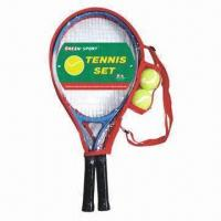 China Tennis rackets and balls, made of steel, OEM orders are welcome, customized packing types are accept on sale