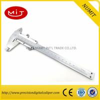 Stainless steel vernier caliper for sale,150 mm measurement tool,manual caliper Manufactures