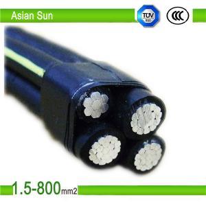 1KV XLPE Insulation, Aluminum AlloyConductorABC AerialBunchCable Manufactures