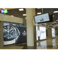 China Airport Super Slim Poster Frame Light Box Backlit Photo Frame Single Sided on sale