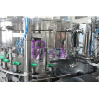 Cheap PET / Tin Can Carbonated Drink Filling Machine , Full Automatic Filling Capping Machine for sale