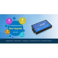 4 ports Serial Device Converter, Serial RS232/RS485/RS422 to Ethernet Converter USR-N540 - 4 Serial port RS232 RS485 RS4 Manufactures