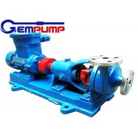China AFB Horizontal Corrosion Resistant Chemical Centrifugal Pump 0.75KW ~ 55KW on sale