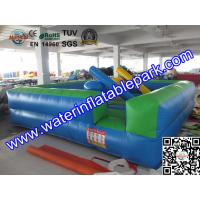 5x5M Gladiator Jousting Inflatable Sport Games , Square Jousting Arena Manufactures