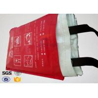7oz Kitchen Fiberglass Heavy Duty Fire Blanket with 100 % Glass Fiber Materials Manufactures