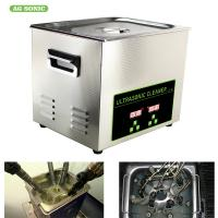 200W 10l Ultrasonic Digital Cleaner Tabletop For Automotive Parts Motor Engine Manufactures