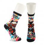 Adults  OEM Service  Breathbale Eco-friendly Custom Made Size 3D-Printing Socks